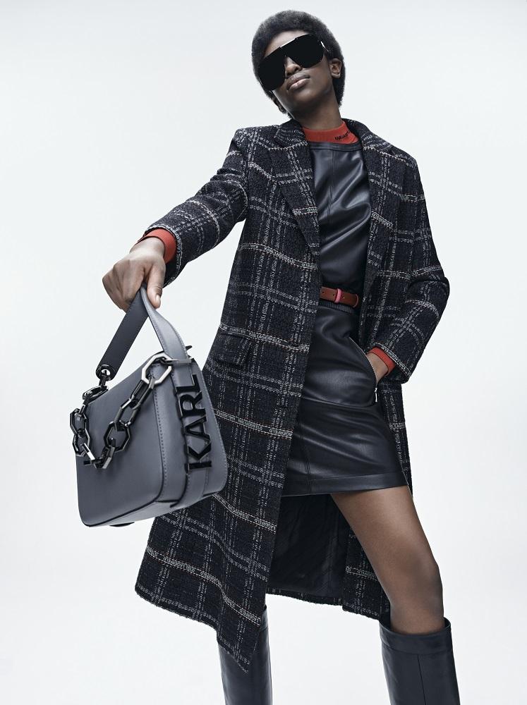 Кинематограф и мода: Новая коллекция KARL LAGERFELD осень-зима 2021-Фото 11