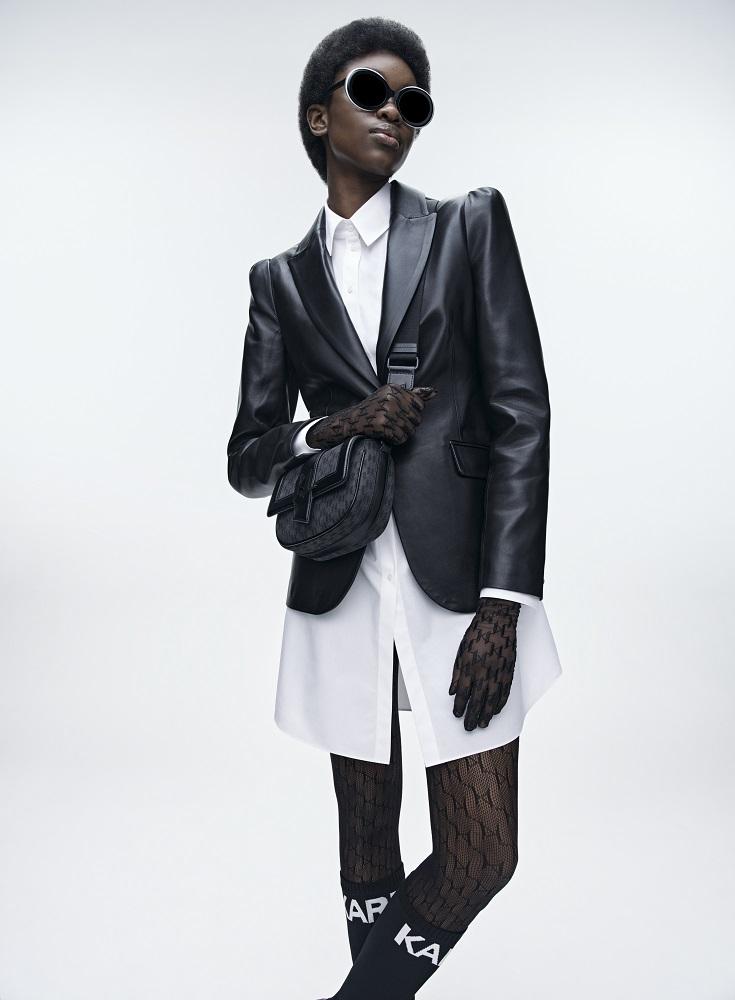 Кинематограф и мода: Новая коллекция KARL LAGERFELD осень-зима 2021-Фото 10