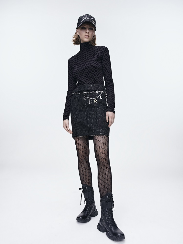 Кинематограф и мода: Новая коллекция KARL LAGERFELD осень-зима 2021-Фото 2