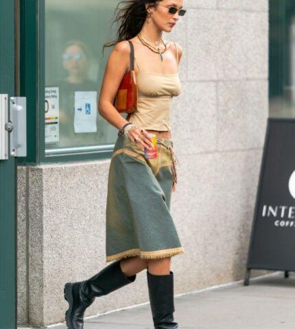 МиссБохо: Как повторить самый стильный образ Беллы Хадид — для начала осени-430x480
