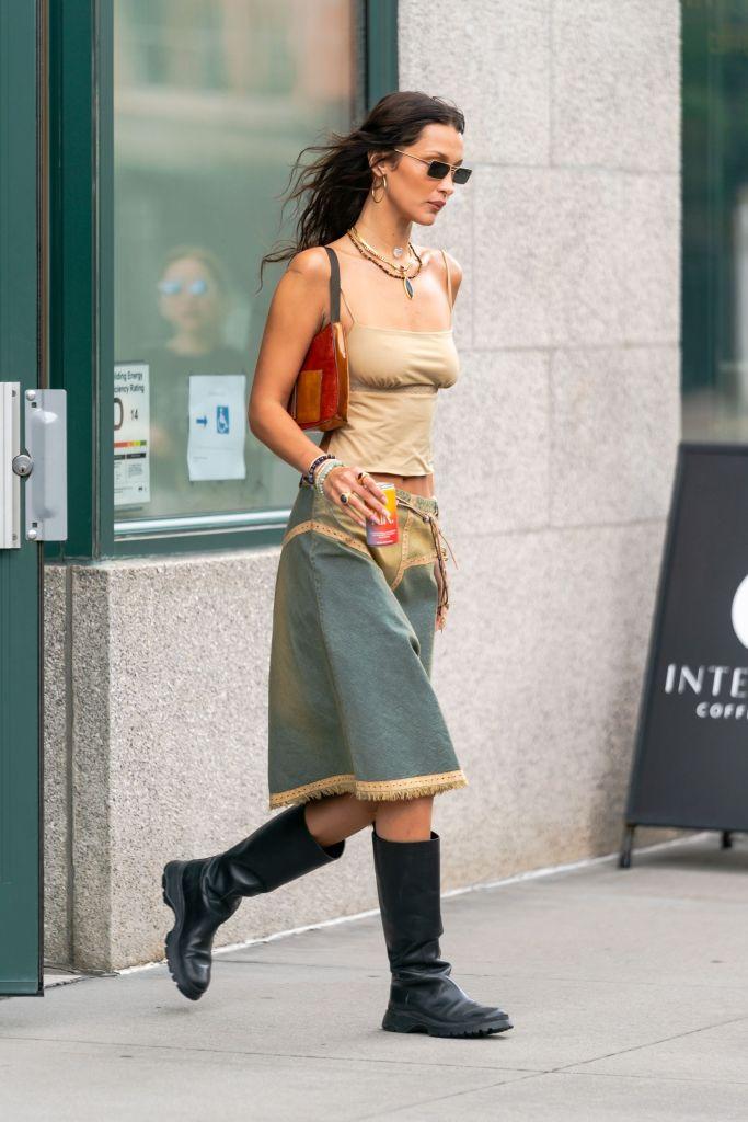МиссБохо: Как повторить самый стильный образ Беллы Хадид — для начала осени-Фото 1