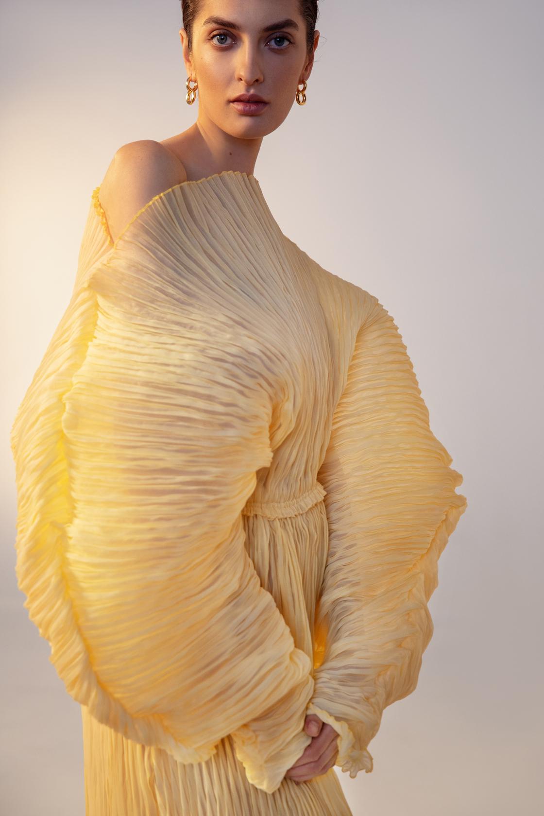 Платья-оригами и стежка в осенней коллекции J'amemme-Фото 1