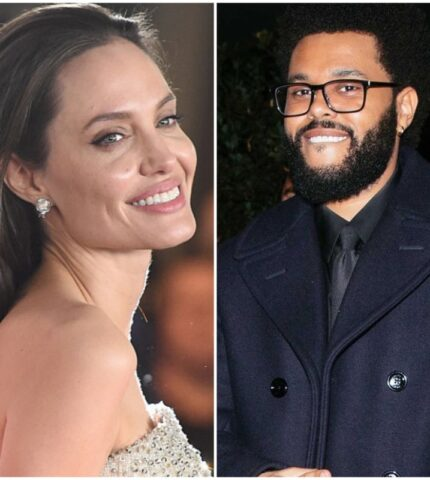 Подлили масла в огонь: Анджелина Джоли и The Weeknd провели вечер вместе-430x480