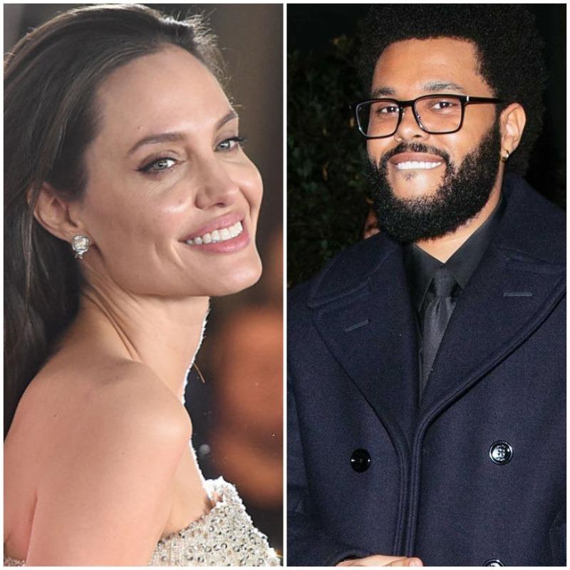 Подлили масла в огонь: Анджелина Джоли и The Weeknd провели вечер вместе-Фото 1
