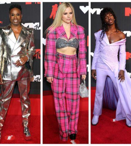 MTV Video Awards 2021: Обзор лучших образов звездных гостей-430x480