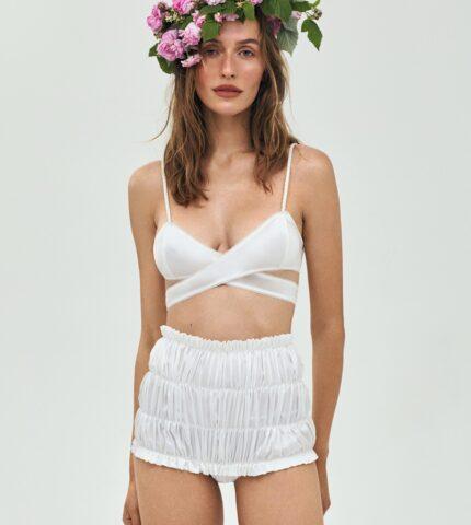 Бренд Anna October выпустил коллекцию переосмысленной свадебной моды-430x480