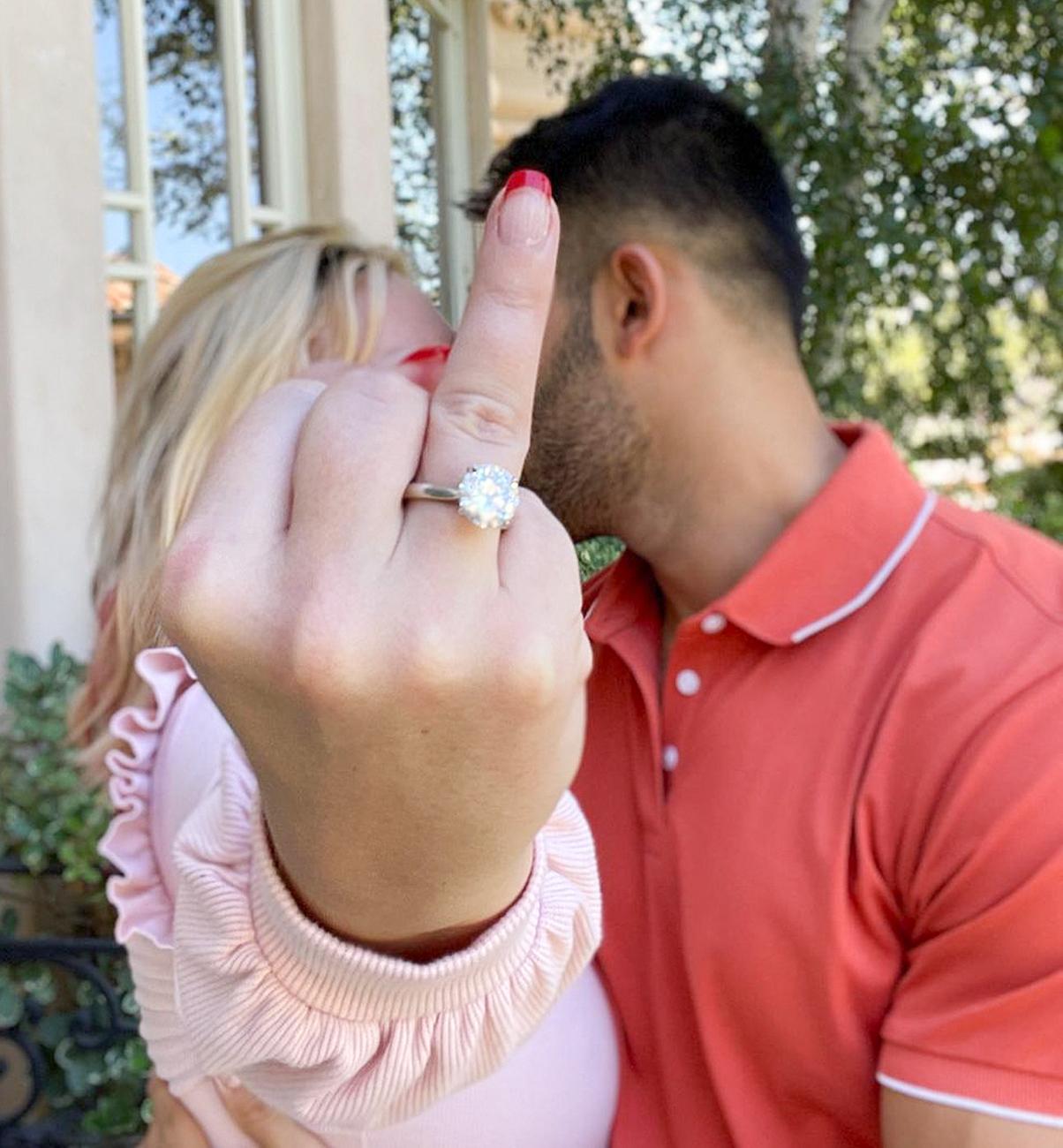 Бритни Спирс помолвлена с бойфрендомСэмом Асгари-Фото 2