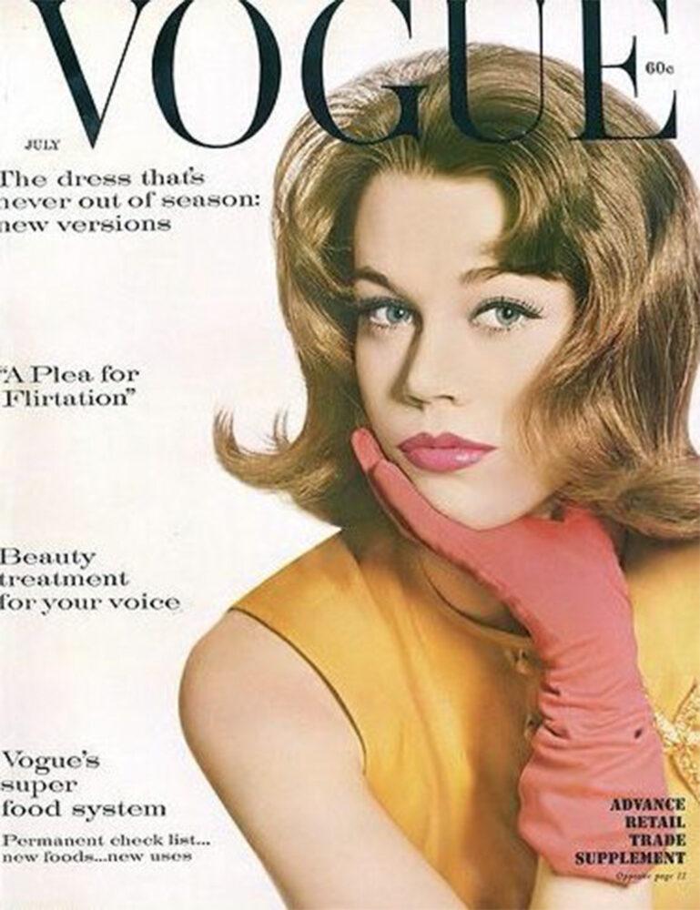 Джейн Фонда спустя 62 года появилась на обложке своего первого глянца-Фото 2
