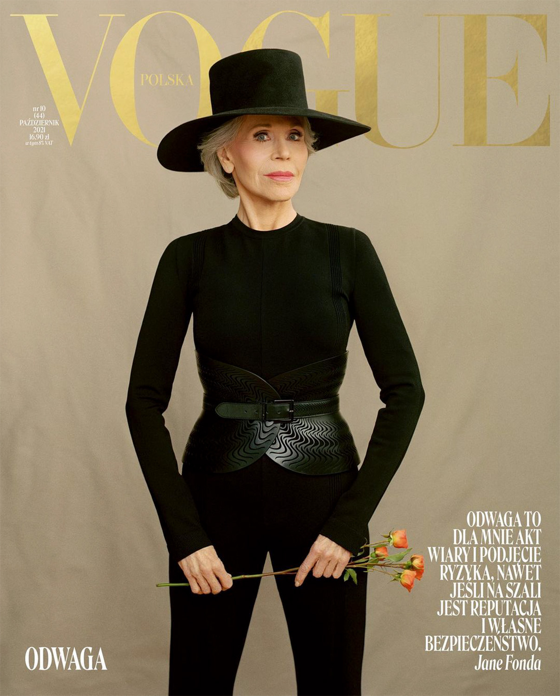 Джейн Фонда спустя 62 года появилась на обложке своего первого глянца-Фото 1
