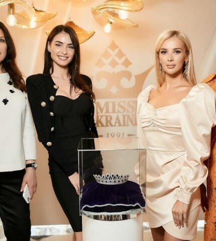 Нову корону вартістю 3 млн доларів для «Міс Україна – 2021» вже привезли до Києва-430x480