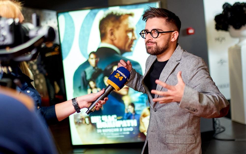Фотозвіт: Як пройшла прем'єра нового фільму про Джеймса Бонда у Києві-Фото 5
