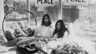 Архивную кассету с песней Джона Леннона и Йоко Оно продали за 60 тысяч долларов-320x180