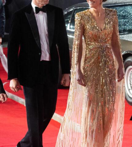 Премьерный показ: Кейт Миддлтон вновь повторила образ принцессы Дианы-430x480