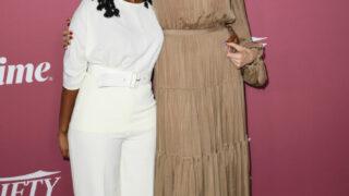 Анджелина Джоли появилась на красной дорожке с дочкой-320x180