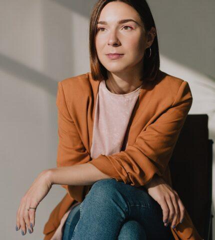 Про що мовчить жінка: Ганна Ярошевич, режисерка-430x480