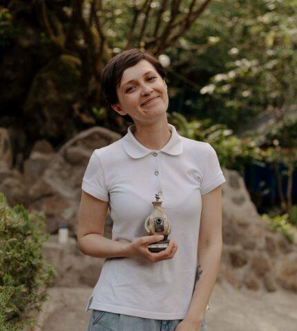 Small Talk: Жанна Озірна, режисерка-430x480