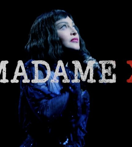Мадонна презентує проєкт, який був зроблений спільно з українським режисером Сашою Касюгою-430x480