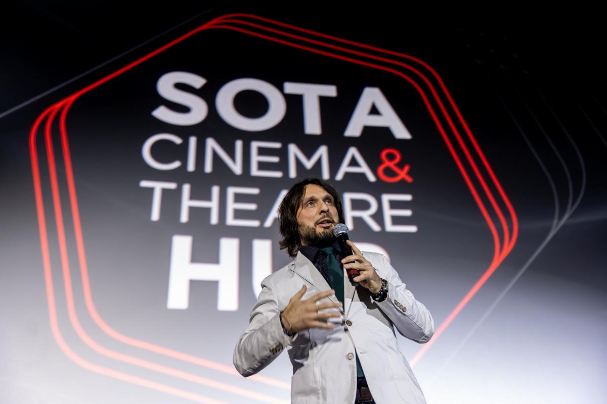 Зірка світового кіно Фанні Ардан відкрила у Києві SOTA CINEMA & THEATRE HUB-Фото 2