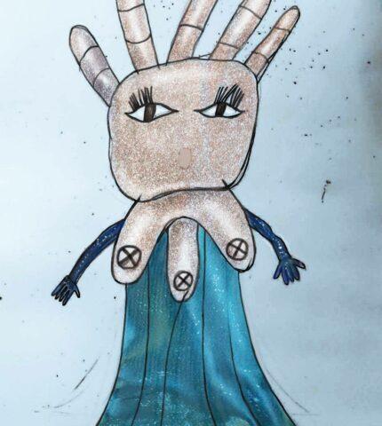 У шоу «МАСКА» з'явиться герой, зроблений за малюнком дитини-430x480
