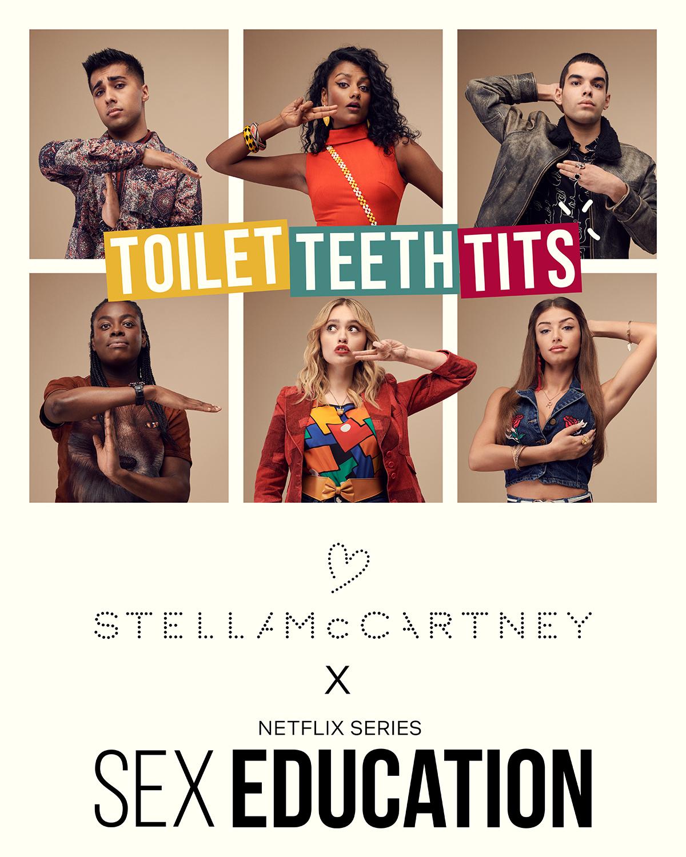"""Стелла Маккартни сняла видео в поддержку женщин с раком груди вместе с актерами """"Полового воспитания""""-Фото 1"""