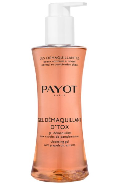 Gel Demaquillant D'tox, Payot).