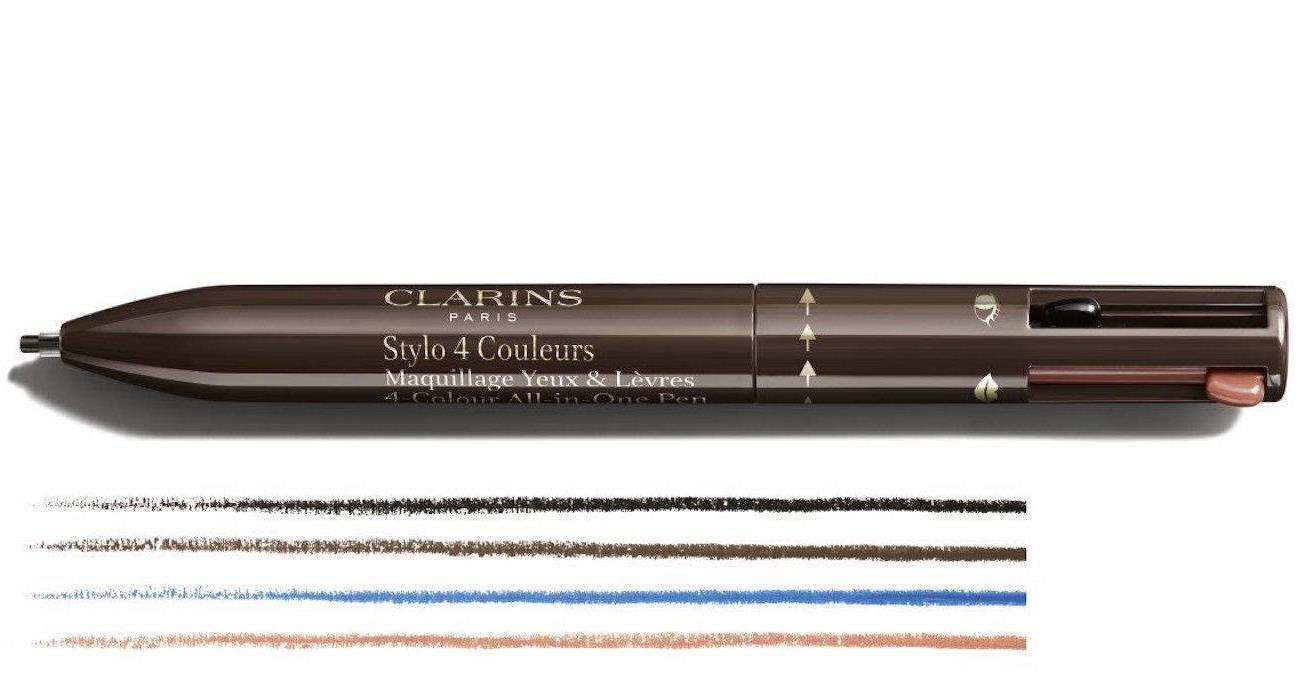 clarins 4-Colour All-in-One Pen Eyes & Lips
