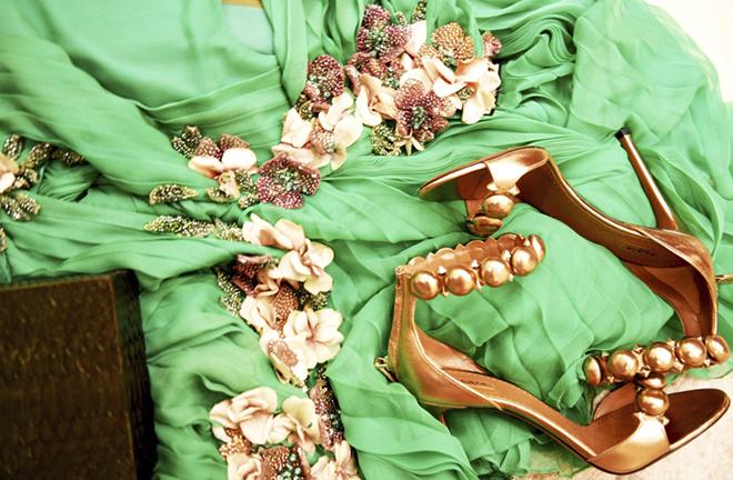 Образ дня  беременная Бейонсе в платье Gucci - фото 11 75e54f99dc4