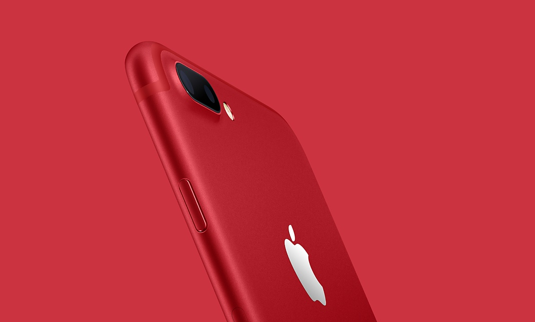 iPhone 7 и iPhone 7 Plus Red Special Edition